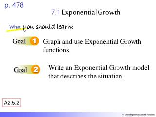 7.1  Exponential Growth