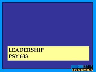 Leadership Psy  633
