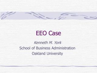 EEO Case