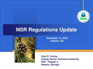 NSR Regulations Update