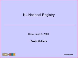 NL National Registry
