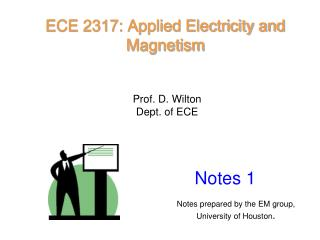ECE 2317: Applied Electricity and Magnetism