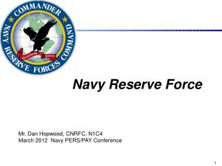 Navy Reserve  Force