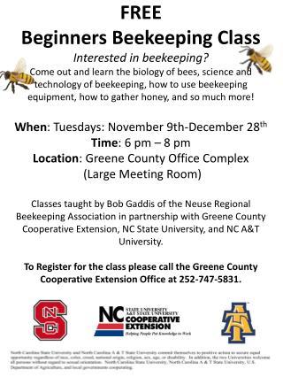 Beekeeping flyer 1