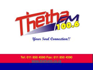 Power Point presentation from Thetha Fm