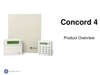 Concord 4 Product Overview