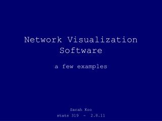 Network Visualization Software