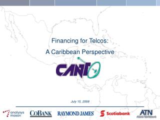Financing for Telcos: A Caribbean Perspective
