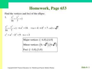 Homework, Page 653