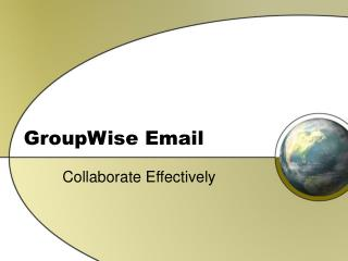 GroupWise Email