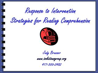 Response to Intervention Strategies for Reading Comprehension