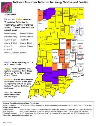 Indiana's Transition Initiative for Young Children and Families