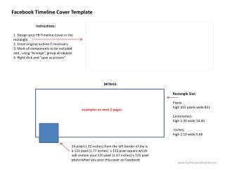 Facebook  Timeline  Cover Templat e