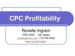 CPC Profitability