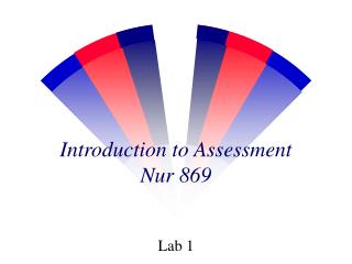 Introduction to Assessment Nur 869