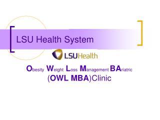 LSU Health System
