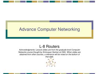 Advance Computer Networking