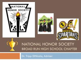 National honor society broad run high school chapter