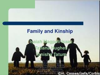 Family and Kinship