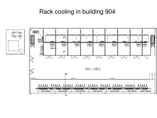 Rack cooling in building 904