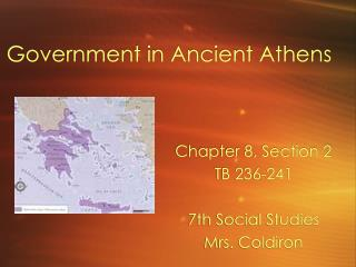 Government in Ancient Athens