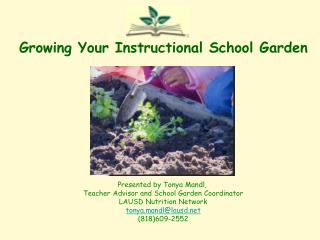 Growing Your Instructional School Garden
