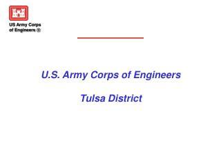U.S. Army Corps of Engineers Tulsa District