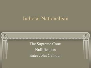 Judicial Nationalism