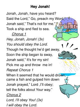 Hey Jonah
