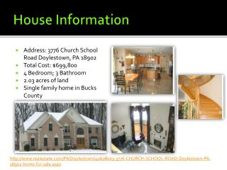 House Information