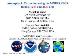 Atmospheric Correction using the MODIS SWIR Bands ( 1240  and  2130  nm)