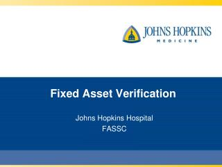 Fixed Asset Verification