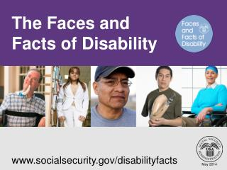 The Faces and Facts of Disability