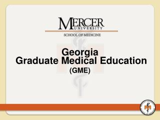 Georgia  Graduate Medical Education (GME)