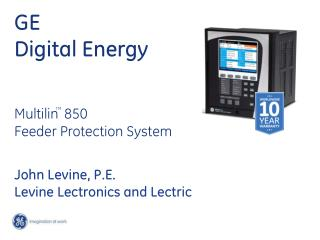 GE Digital Energy Multilin 850  Feeder Protection System