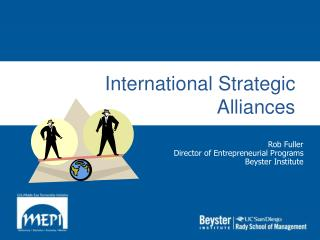 International Strategic Alliances