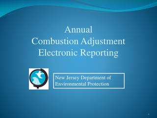 Annual Combustion Adjustment Electronic Reporting