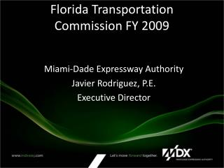 Florida Transportation Commission FY 2009