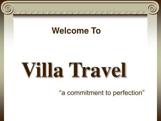 Villa Travel