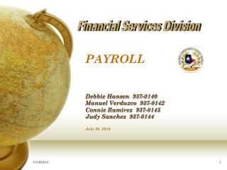 Financial Services Division
