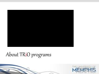 About TR i O programs