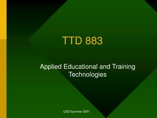 TTD 883