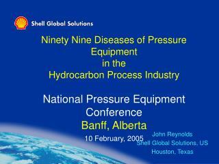 John Reynolds Shell Global Solutions, US Houston, Texas