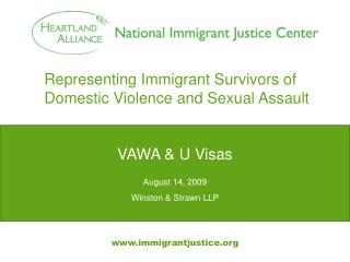 Representing Immigrant Survivors of Domestic Violence and Sexual Assault