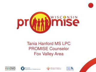 Tania Hanford MS LPC PROMISE Counselor Fox Valley Area