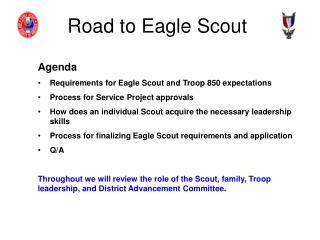 Road to Eagle Scout