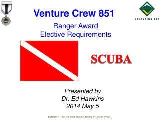 Ranger Award  Elective Requirements