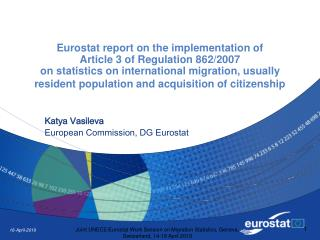 Katya Vasileva European Commission, DG Eurostat