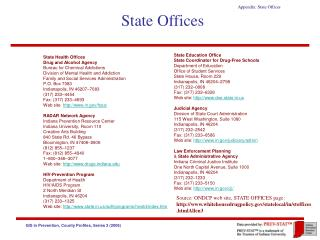 State Offices