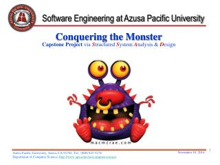 Software Engineering at  Azusa Pacific University